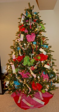 xmas tour candy tree