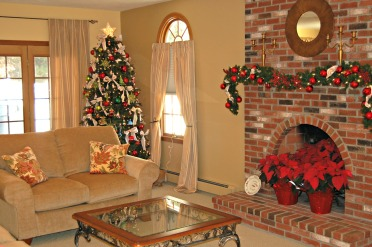 xmas tour family room
